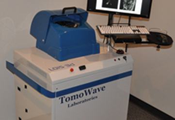 Laser optoacoustic imaging for medical diagnostics of breast cancer thesis